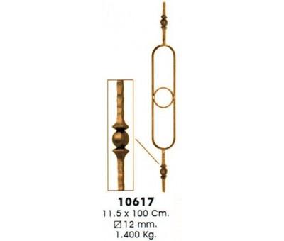 Кованая балясина 10617