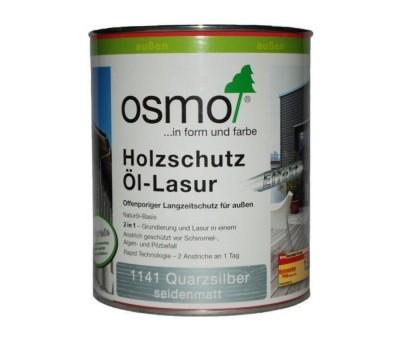 Защитное масло-лазурь для древесины с эффектом серебра Holz-Schutz Oel Lasur Effect