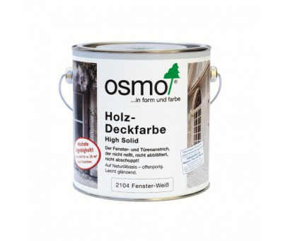 Белая краска для окон и дверей Holz-Deckfarbe