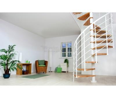 Винтовая лестница Oslo White