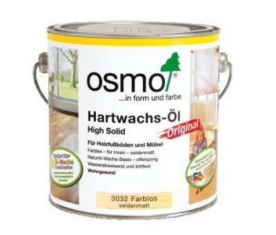 Масло с твердым воском для пола  Hartwachs-Öl Original