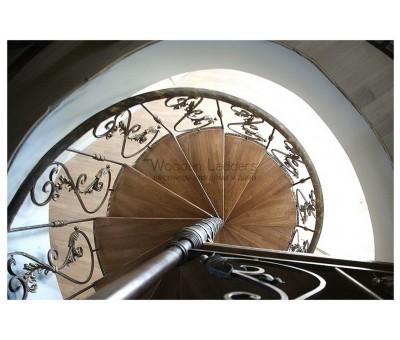 Винтовая лестница (худ-я ковка), г. Чехов