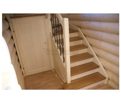 Комбинированная лестница, КП «Велегож Парк»