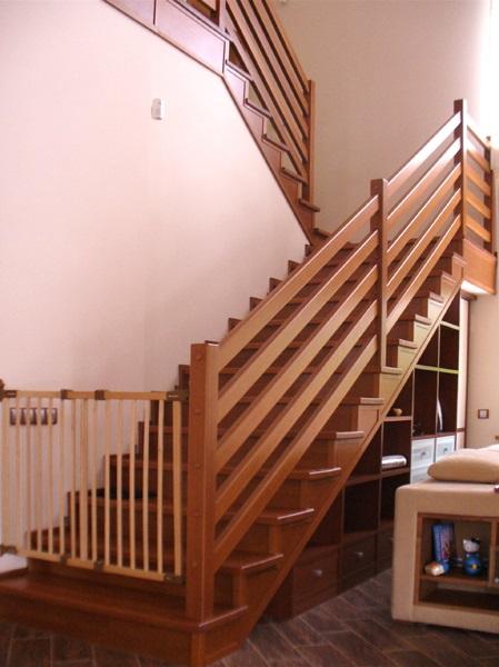 Своими руками ограждение лестницы